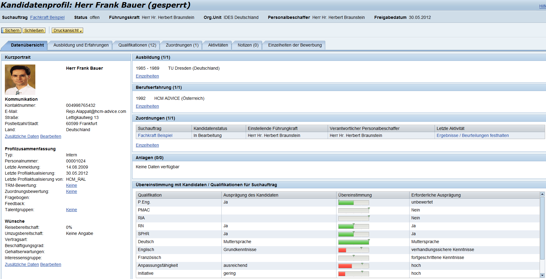 SAP Solutions - HCM ADVICE